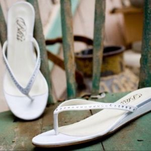 Bliss Bridal Flip Flop Ella